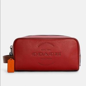 Large Travel Kit Leather